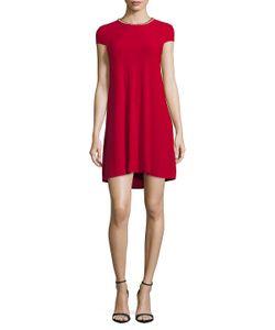 Karl Lagerfeld | Embellished Hi-Lo Dress