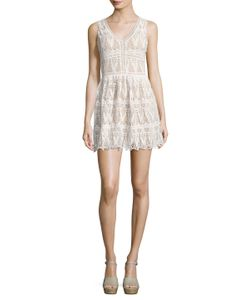 Lucca Couture | Lace V-Neck Short Dress