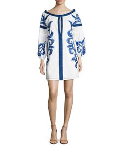 KAS | Lindsay Cotton Boatneck Shift Dress