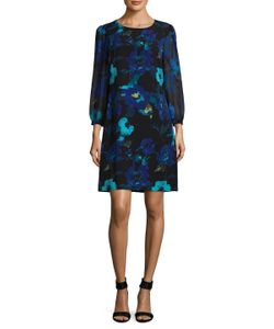 Karl Lagerfeld   Chiffon Shift Dress