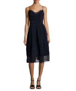 TIMO WEILAND | Tennessee Sheer Panel A-Line Dress