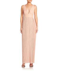 Nicholas   Accordion Pleated Gown