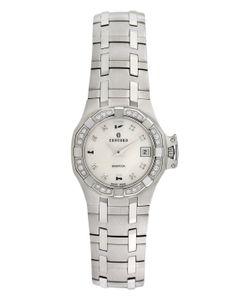 Concord | Saratoga Stainless Steel Diamond Watch 25mm