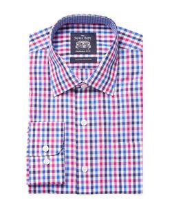 Saville Row | Checkered Dress Shirt