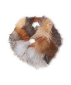 Adrienne Landau | Multicolored Fox Cowl Scarf