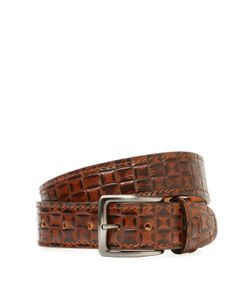 Berge' | Woven Leather Belt