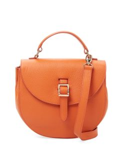 meli melo | Ortensia Mini Leather Saddle Crossbody