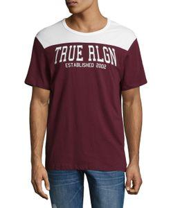 True Religion | Football Cotton Tee