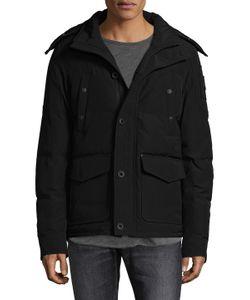 Moose Knuckles | Algonquin Fox Fur-Trimmed Jacket
