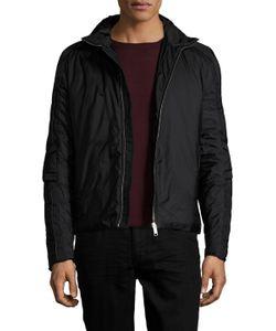 Prada Sport | Stand Collar Woven Jacket