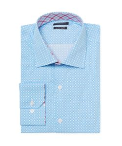 TailorByrd | Printed Trim Fit Dress Shirt