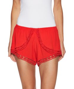 Winston White | Hanalei Lace Trimmed Short