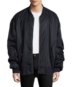 Yves Salomon | Solid Stand Collar Jacket