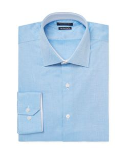 TailorByrd | Solid Trim Fit Dress Shirt