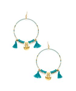 CHANLUU | Beaded Drop Earrings