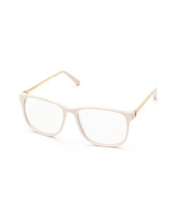 LINDA FARROW LUXE | Pastel Oversized Square Optical Frame
