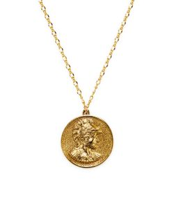 Kenneth Jay Lane | 32 Satin Coin Pendant Necklace
