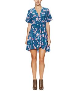 Tucker | Silk Mini Shirtdress