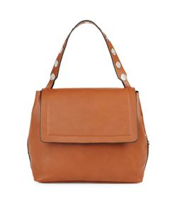 French Connection | Celia Large Leather Flap Bag