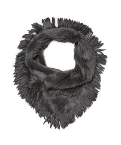 JOCELYN | Rabbit Fur Oversized Infinity Scarf