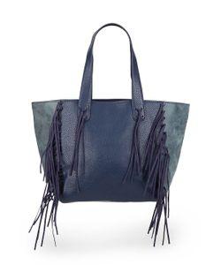 Urban Originals | Piper Fringe Faux Leather Tote Bag
