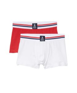 PSYCHO BUNNY | Cotton Solid Trunks 2 Pk