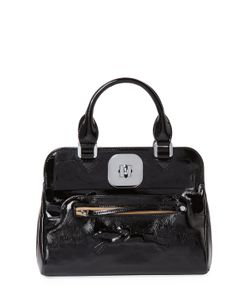 Longchamp | Gatsby Small Patent Leather Convertible Tote