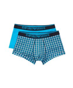 EMPORIO ARMANI UNDERWEAR | Knit Trunks 2 Pk