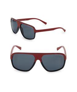 Armani   61mm Square Frame Sunglasses