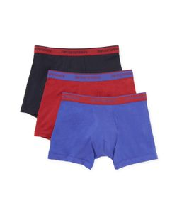 EMPORIO ARMANI UNDERWEAR | Colored Basic Stretch Boxers 3 Pk