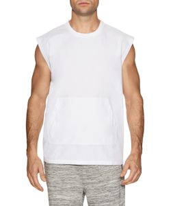 Shades Of Grey By Micah Cohen | Muscle Sleeve Woven Tee