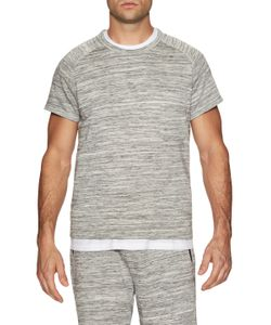 Shades Of Grey By Micah Cohen | Muscle Sleeve Crewneck Sweatshirt