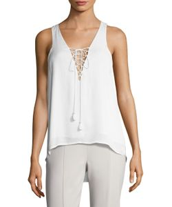 THE JETSET DIARIES | Lotus Lace Up Tank