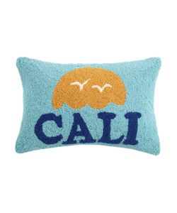 Phi | Cali Hand-Hooked Pillow Wool Cotton Pillow