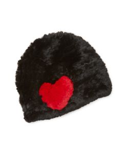 JOCELYN | Rabbit Fur Graphic Hat
