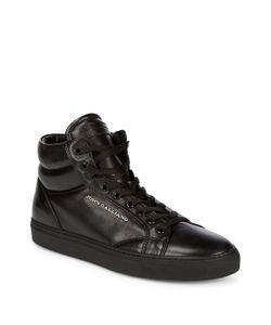 John Galliano | High Top Leather Sneakers
