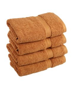 Superior | Long Staple Combed Hand Towels Set Of 4
