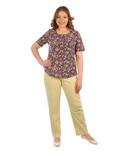 Intikoma | Блуза Мелкий Цветочек