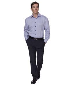 Канцлер   Полуприталенная Хлопковая Мужская Рубашка Kanzler