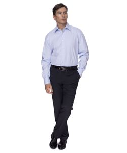 Канцлер | Прямая Хлопковая Мужская Рубашка Kanzler