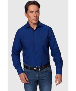 Канцлер   Полуприталенная Хлопковая Рубашка Kanzler