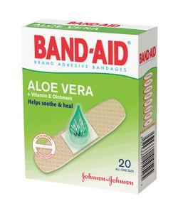 BAND-AID | Пластырь С Алоэ И Витамином Е