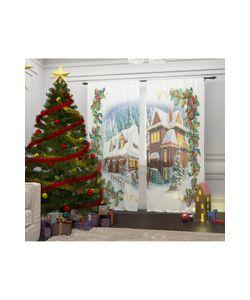 Сирень   Фототюль Рождество В Альпах