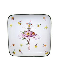 Elff Ceramics | Блюдо Квадратное 185 См