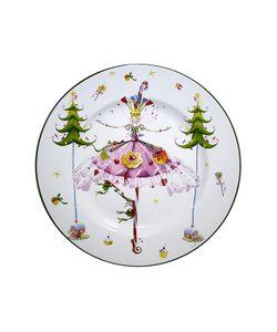Elff Ceramics | Блюдо Танцующая Девушка 23 См