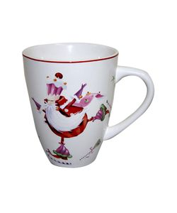 Elff Ceramics | Кружка Веселый Санта 300 Мл