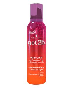 Got2b | Стайлинг-Мусс Ловушка 250Мл