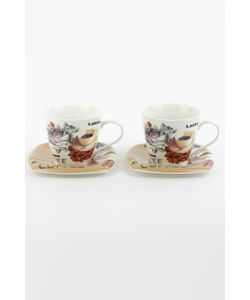 PATRICIA | Набор Чайный 4 Пр. 220 Мл