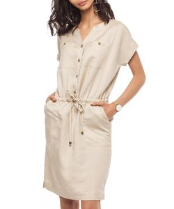 Vilatte | Платье-Рубашка На Пуговицах