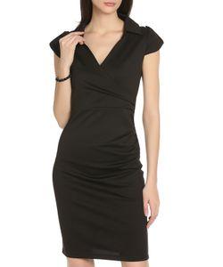 SARTORI DODICI | Стильное Черное Платье Облегающего Силуэта